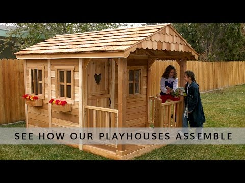 Playhouse Assembly Overview