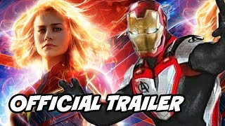 Captain Marvel Official Trailer Breakdown and Avengers 4 Official Trailer Synopsis