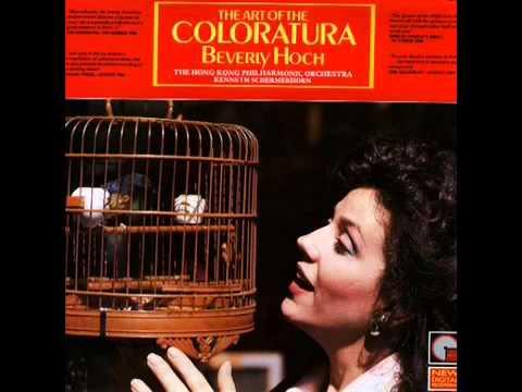 Beverly Hoch - Concerto for coloratura soprano & orchestra, op 82, II Allegro