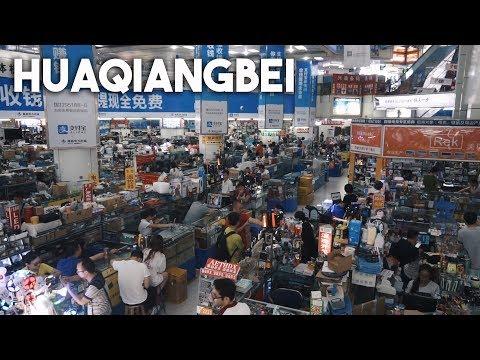 El mercado electrónico más grande del mundo, Huaqiangbei
