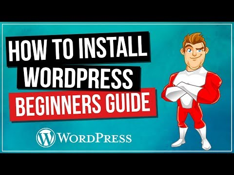How To Install WordPress Tutorial For Beginners thumbnail