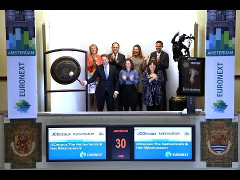 JCDecaux The Netherlands and Het Rijksmuseum sound gong for partnership