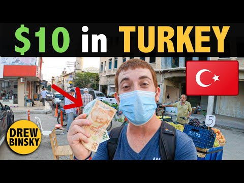 What Can $10 Get in TURKEY? (i love this country)