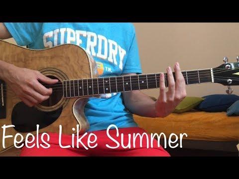 Feels Like Summer - Childish Gambino (Acoustic Guitar Cover)