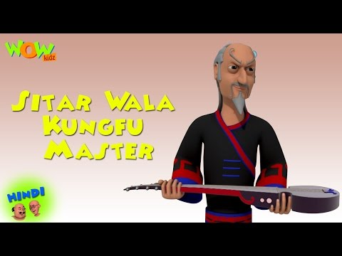Sitar Wala Kungfu Master - Motu Patlu in Hindi WITH ENGLISH, SPANISH & FRENCH SUBTITLES thumbnail