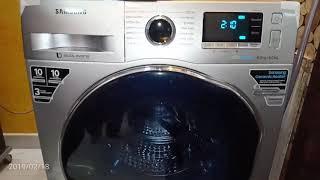 Latest Samsung Washing Machine l eco bubble l Washer Cum Dryer l Model : WD80J6410AS