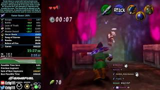 Ocarina of Time [Faster Quest] 100% Speedrun in 2:57:35 (with EyeTracker)