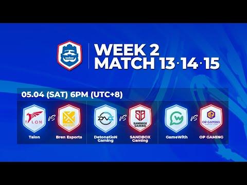 2019 CRL 亞洲賽區 S1 - 季賽第2週第2天