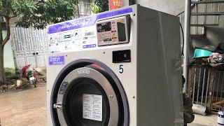 Máy Giặt Công Nghiệp Sanyo 17kg giá bán 58 triệu - 098.198.4444