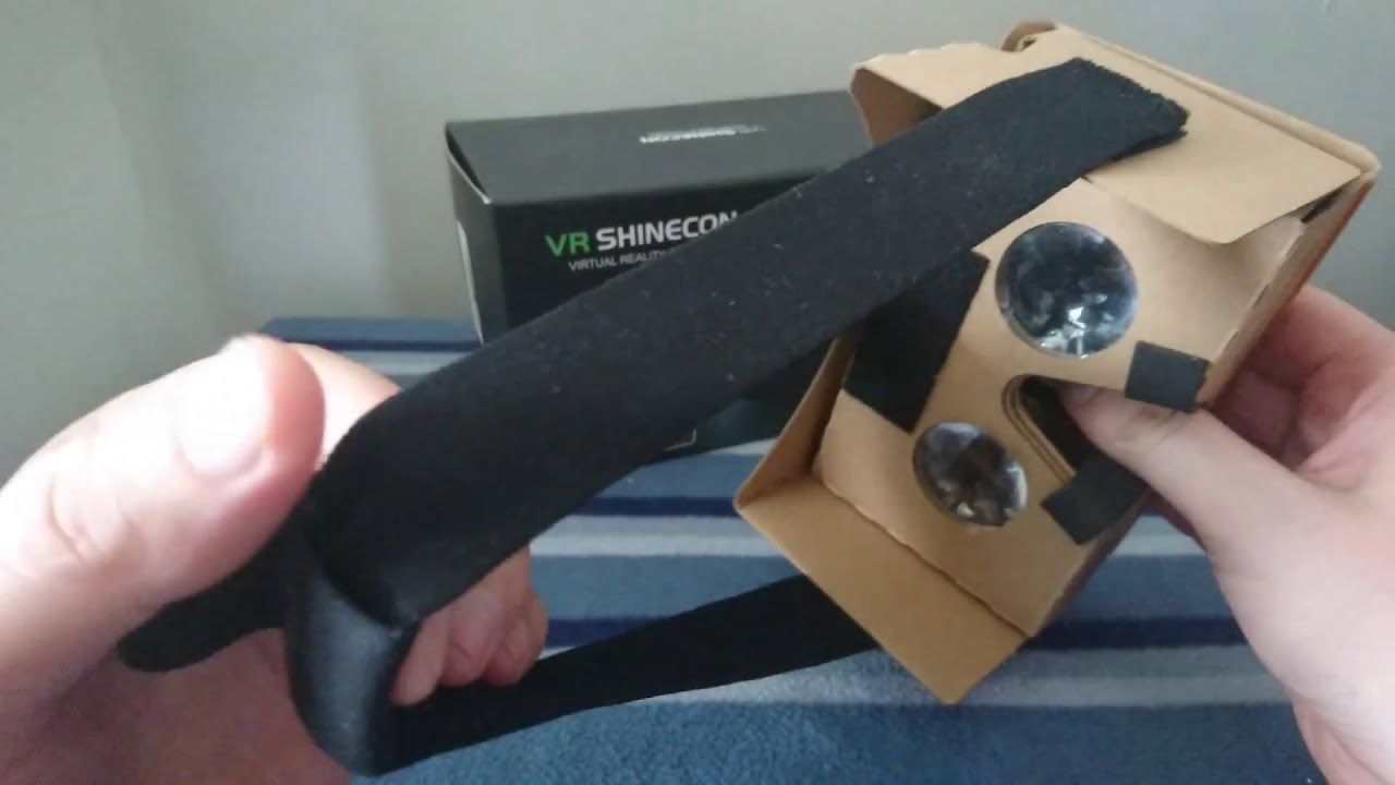 Vr Shinecon 3d Virtual Reality Headset Where To Download Vr App S Youtube