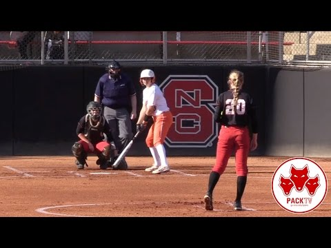 NC State Softball vs. Virginia (March 18th, 2017)