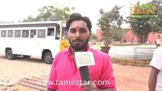 Arun Thomas At Kaaviyan Movie Shooting Spot