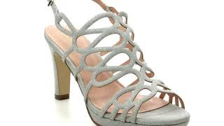 Menbur Verona 20322-09 Silver Heeled Sandals