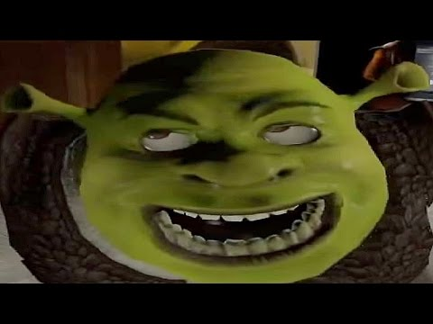 shrek but it gets faster every time someone says ogre