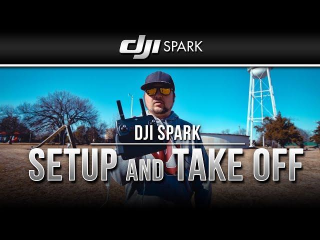 DJI Spark / Setup and Take Off (Tutorial)