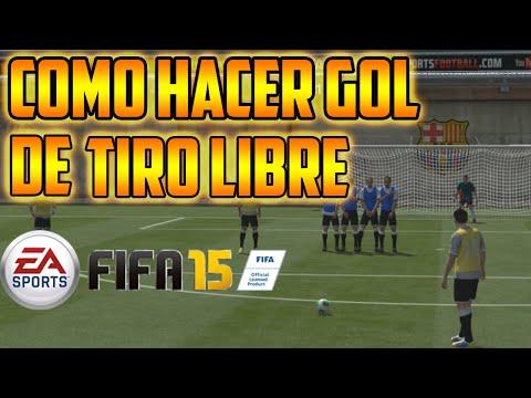 FIFA 15: Goles de tiro libre Tutorial Fácil Goles de falta EN ESPAÑOL