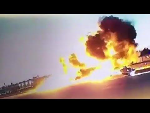 LiveLeak - Fullerton plane crash: Pilot killed in fiery small-plane crash