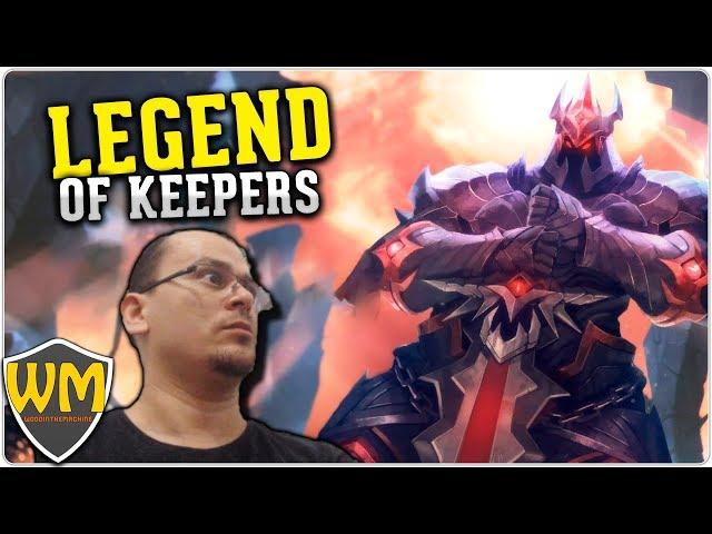 Você faz a série: Legend of Keepers #02 - Apanhando de veteranos - Gameplay PT BR