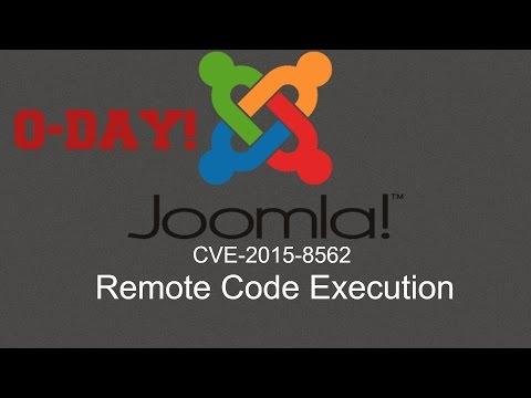 0-Day - Ejecucion De Codigo Remoto En Joomla - CVE-2015-8562