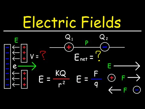 Electric Field Due To Point Charges - Physics Problems