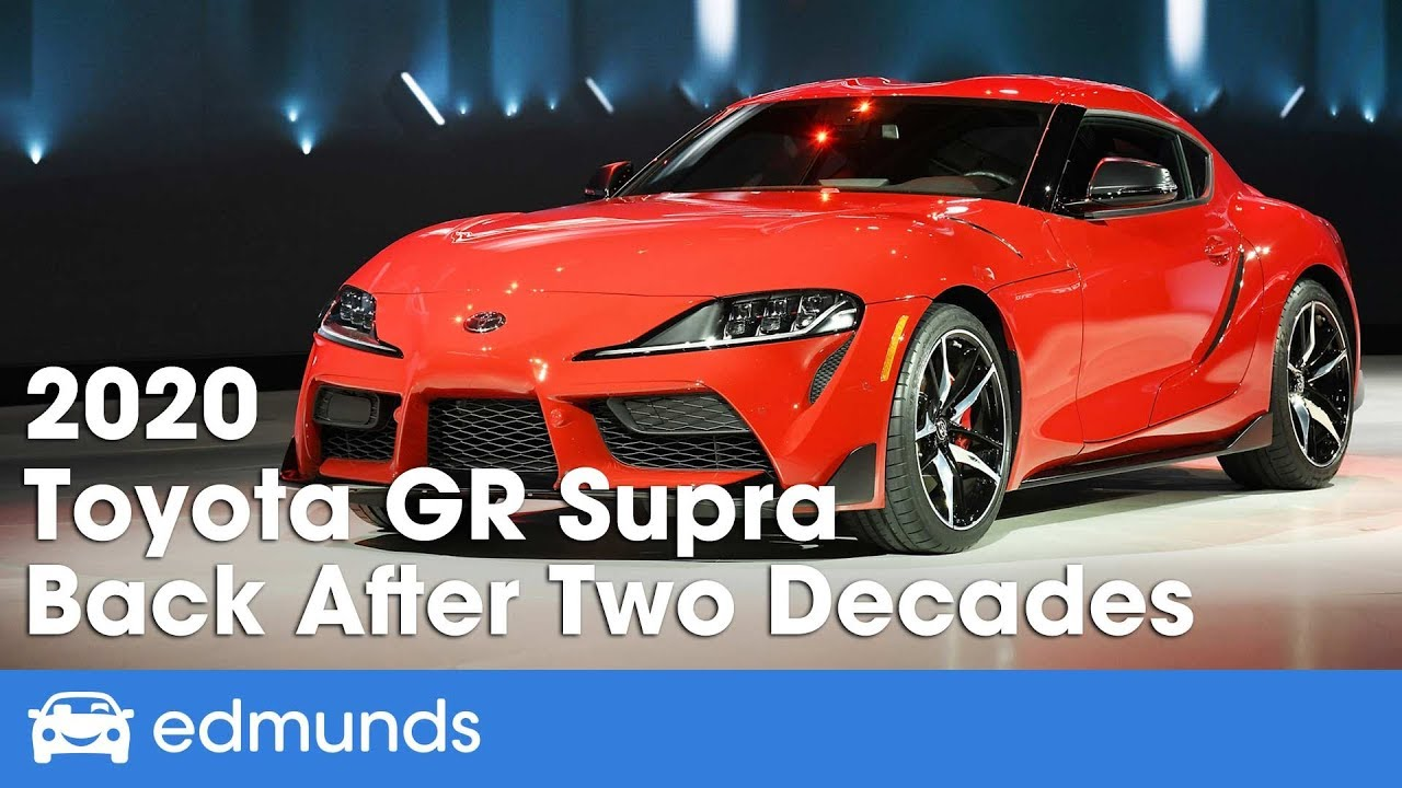 308f40748b5feb 2020 Toyota GR Supra First Look | After Two Decades - It's Back! | Edmunds
