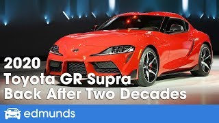 2020 Toyota GR Supra First Look | After Two Decades - It