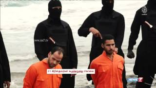 Egypt plunges into grief and anger as ISIS 'beheads 21 Egyptian Christians' in Libya