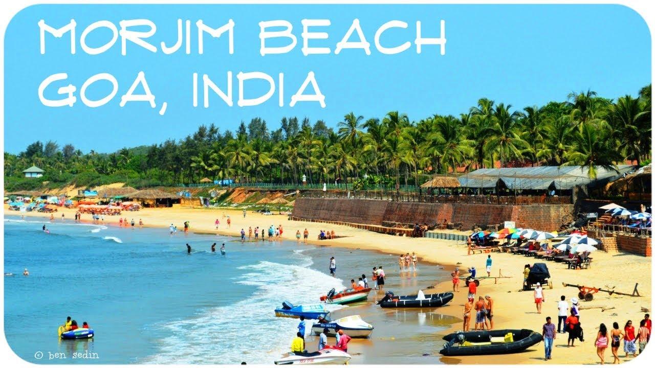 Morjim Beach Goa India