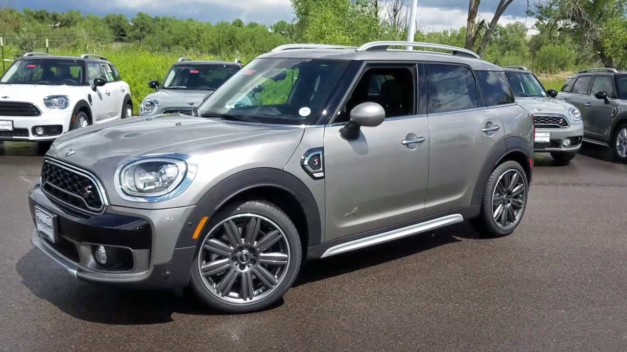 2017 Melting Silver Countryman S Loaded With 19 Mini Masterpiece