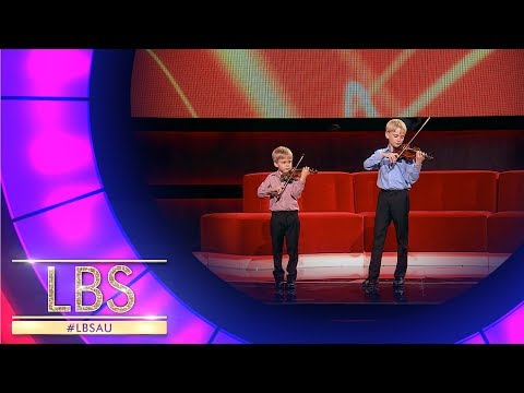 Meet Jude And Lewis The Violin Virtuosos | Little Big Shots Australia