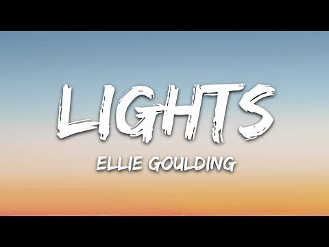 Ellie Goulding - Lights (Lyrics)