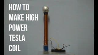 How To Make 12volt High Power Tesla Coil
