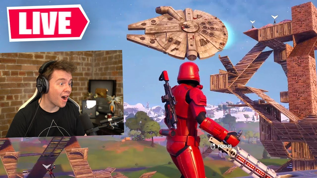Fortnite X Star Wars LIVE (Full Event) thumbnail