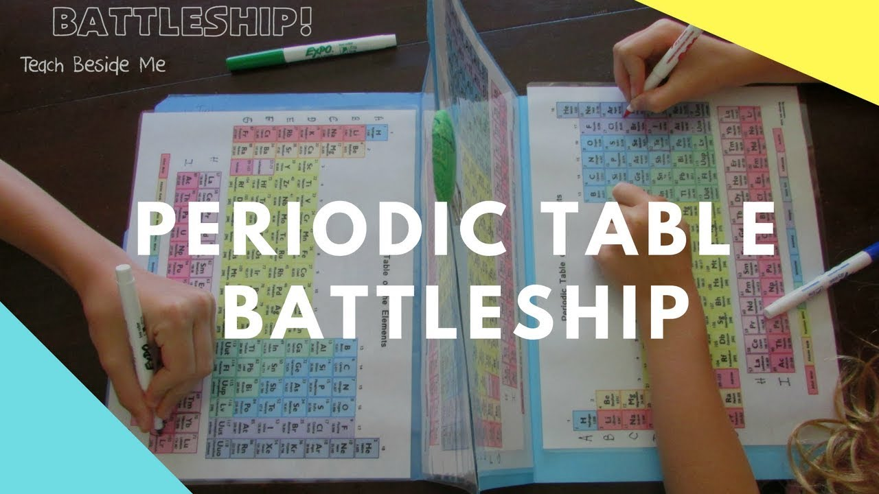 Periodic table battleship youtube urtaz Choice Image