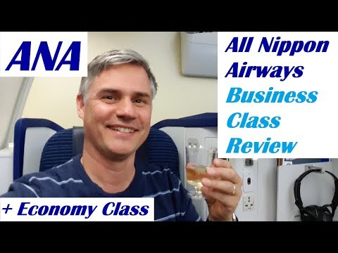 ANA - All Nippon - Business Class and Economy on the 787