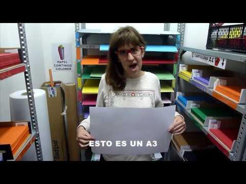REPROGRAFIA CASTELL VELL -  TIPOS DE PAPEL