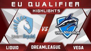 Liquid vs Vega DreamLeague Major 2017 EU Highlights Dota 2