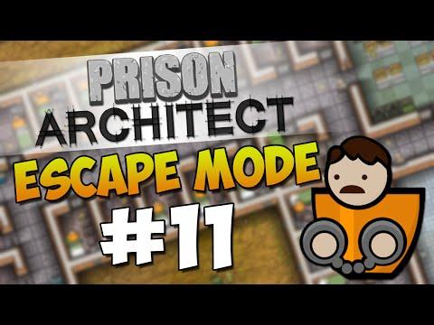 Prison Architect Escape Mode #11 - HUGE GANG WAR