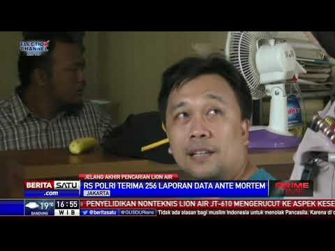 RS Polri Menerima 186 Kantong Jenazah Korban Lion Air Mp3
