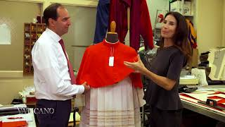 In the Workshop with the Vatican Tailor - EWTN Vaticano