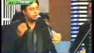 geo tv applause with tehseen javed guitarest shafiq bhai 1/9
