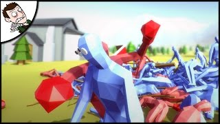 ABSOLUTE MAYHEM! Totally Accurate Battle Simulator Gameplay
