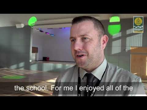 Peter Davidson   Sighthill Community Campus subtitled