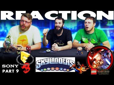 Crash Bandicoot Skylanders and Lego Star Wars Trailer REACTION!! Sony E3 2016 Conference 9/12