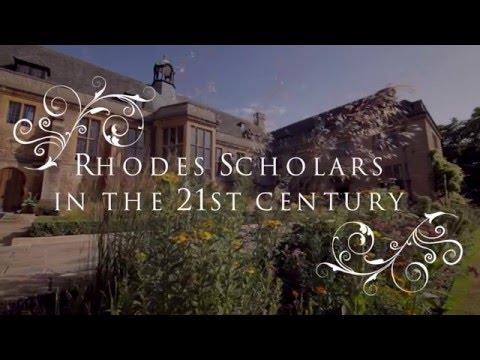 Rhodes Scholars in the 21st Century