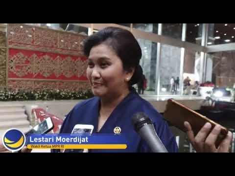 Lestari Moerdijat  Wakil Ketua MPR RI masa bakti 2019-2024.