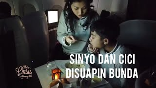 The Onsu Family - Sinyo dan Cici di Suapin Bunda