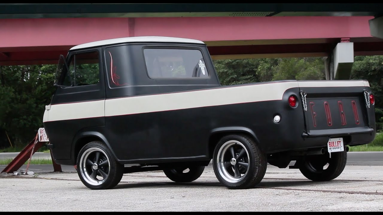 Ford 4x4 Vans For Sale 1963 Ford Econoline Pickup HotRod test drive. - YouTube