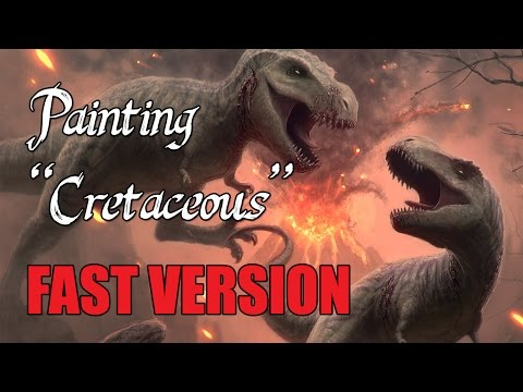 "Speedpainting - ""Cretaceous"" (FAST VERSION)"