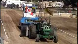 Out & About~Maine. Tractor pulling at the Oxford Fair.